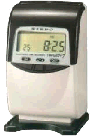 Nippo Timeboy7 Calculating  Time Clock made in Japan